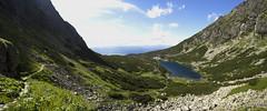Velické pleso (Marek Hlaváč) Tags: tatra mountains hory tatry road lake landscape sky rock grass canon eos 6d ef20mm f28 usm