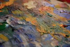 The map (Daria Kucharczyk Photography) Tags: art painting impasto colors texture closeup macro