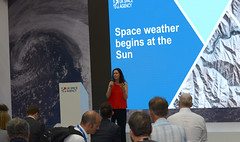 Europe's new mission: Monitoring the Sun from a new viewpoint (europeanspaceagency) Tags: esa europeanspaceagency space universe cosmos spacescience science spacetechnology tech technology fia18 fia2018 farnboroughinternationalairshow ukspaceagency spacezone farnborough farnboroughairshow luciegreen spaceweather