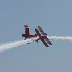The lovely wing walkers giving a fantastic display at Swansea 30/06/2018 (avgeekmum) Tags: swansea walesnationalairshow wingwalking