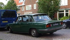 Triumph 2500 TC automatic 1975 (XBXG) Tags: 35fr85 triumph 2500 tc automatic 1975 bva automatique green vert santpoorterplein haarlem nederland holland netherlands paysbas vintage old classic british car auto automobile voiture ancienne anglaise brits uk vehicle outdoor