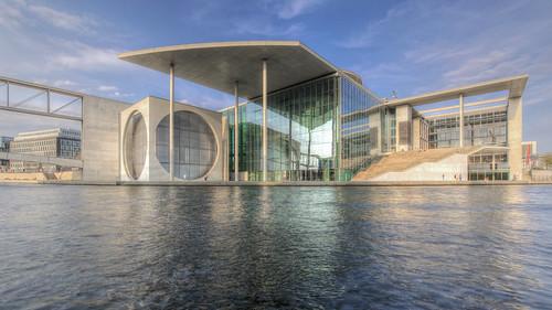 Berlin - Marie-Elisabeth-Lüders-Haus - HDR - Enhanced