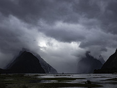 Milford Storm: New Zealand Series 3 (desimage) Tags: sound fiord mountain drama storm