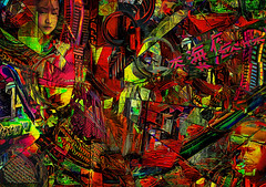 Beijing: Transition in Time (D'ArcyG) Tags: beijing china old new modern aged transition chinese asia vivid colorful composite collage abstract tradition impression
