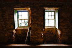 Light Intrusion (Project134) Tags: light window dusty abandoned house