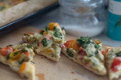 self-made pizza (vitalyperov) Tags: pizza selfmade meal cooking vegetables