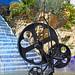 Le Roue de la Fortune (Le Jardin des Tarots de Niki de Saint Phalle à Capalbio, Italie)