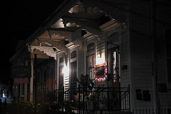 New Orleans - First Impressions (Drriss & Marrionn) Tags: louisiana usa neworleansla streetviews street neworleans city building buildings architecture outdoor nightshots evening streetscene road porch colour façade uptowncharm