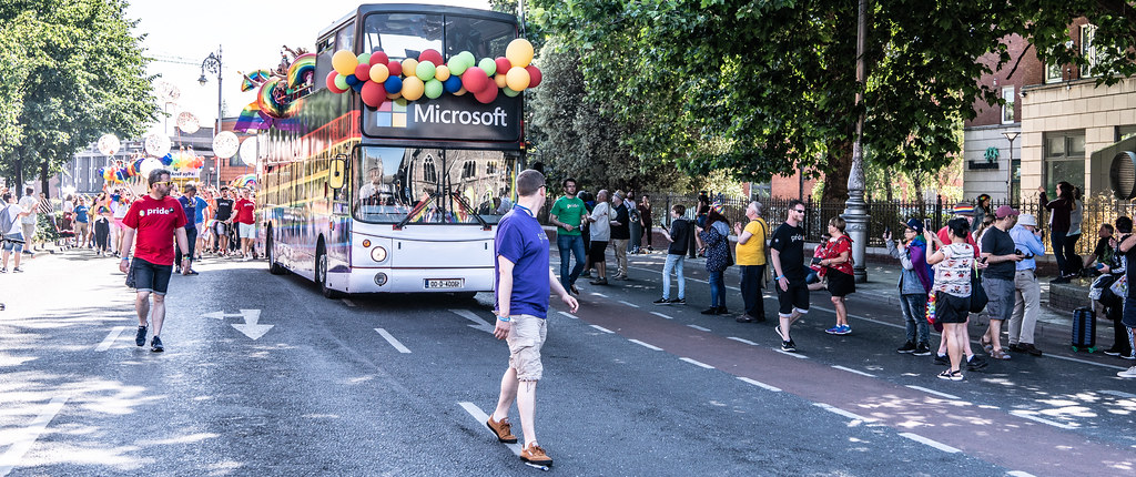 ABOUT SIXTY THOUSAND TOOK PART IN THE DUBLIN LGBTI+ PARADE TODAY[ SATURDAY 30 JUNE 2018] X-100116