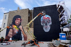 Akalejandro and Bikismo (drew*in*chicago) Tags: chicago 2018 street art artist tag mural paint painter