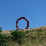Metal Ring in a field outside of Volterra - Tondopieno - Mysterious