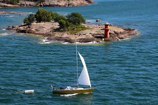 Summer afternoon at sea...