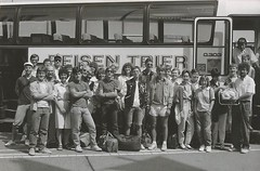 Our HS trip to Germany was so long ago, they didn't even have color photos.... 1986 (skankware) Tags: jeff graham