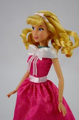 2018 Singing Cinderella Doll - Disney Store Purchase - Deboxed - Standing - Midrange Right Front View (drj1828) Tags: disneystore singing 1112inch cinderella purchase pink dress deboxed standing
