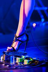 Stiletto heel (Patrick ARFI) Tags: anapopovic lebascala female music live guitar rock