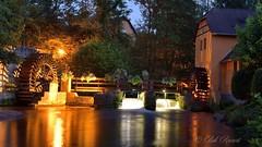Le moulin de la Walk à Wissembourg (Bob_Reinert) Tags: alsace france bobreinert eau water nature paysage landscape wissembourg basrhin nuit night