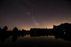 Voie lactée (alexiscrozier1) Tags: voielactée étoiles stars ciel lac water reflet nature paysage landscape test amateur photo