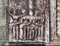 Angkor Wat Cambodia -49a (Yasu Torigoe) Tags: sony a99ii a99m2 sonyilca99m2 camboya cambodia angkor siem templo temple khmer architecture ancient ruins stonework siemreap history histoire building carving art surreal sculpture structure travel archeology thebestshot flickr best buddha buddhist hindu shiva devatas deity