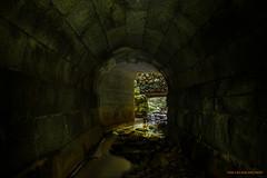 Underground beauty (MIKAEL82KARLSSON) Tags: tunnel underground underjord sten stone vatten water nd8 gråfilter natur naturbild nature sverige sweden dalarna bergslagen klenshyttan explore explorer flickr ue urbanexplorer decay abandoned pentax k70 1650mm f28 mikael82karlsson