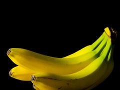 Bananas (Andy Sut) Tags: bananas fruit food studio stilllife yellow blackbackground fruitseries andysutton