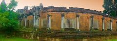 View from the past (Chandana Witharanage) Tags: cambodia asia southeastasia siemreap ruins viewfromthepast angkorwat unescoworldheritagecity architecture archaeologicalsite history buddhist panoramaview 7dwf crazytuesdaytheme decayorabandoned bakongtemples
