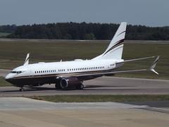N162WC Boeing Business Jet BBJ Wca Holdings Iii Llc (Aircaft @ Gloucestershire Airport By James) Tags: luton airport n162wc boeing business jet bbj wca holdings iii llc bizjet eggw james lloyds