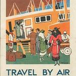 Air Union : UK Leaflet, front (Passengers Side), 1924 thumbnail