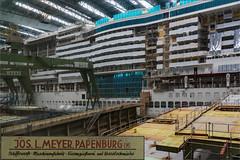 Meyer Werft Papenburg (daniel.streit) Tags: kreuzfahrtschiffe papenburg meyerwerft aidanova