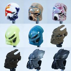 Summer '18 Batch 1 (socketball) Tags: bionicle resin toy toys mask kanohi socketball custom cast