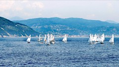 Un petit air d'Italie (frenziM´s little world) Tags: seascape sea italy boot voile voiliers blue sailboat segelboot landscape
