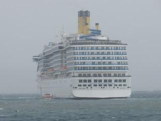 Costa Mediterranea in Kirkwall Bay, Orkney Islands, June 2018