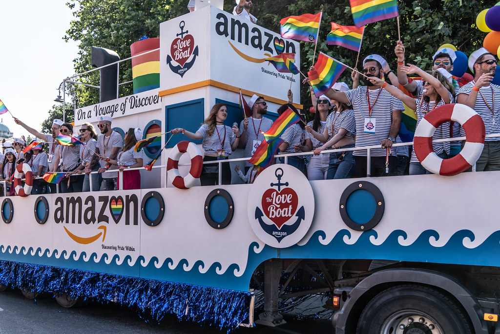 ABOUT SIXTY THOUSAND TOOK PART IN THE DUBLIN LGBTI+ PARADE TODAY[ SATURDAY 30 JUNE 2018] X-100164