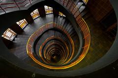 The Downward Spiral (Christoph Wenzel) Tags: urlaub deutschland stadt hamburg de sonyalpha6000 samyang12mmf20 architektur geometrisch sommer
