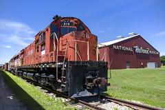 Green Bay & Western C340 #315 (conrail6809) Tags: alco c430 gbw green bay western railroad diesel museum national wi wisconsin 315