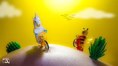 The happiness road (The Aphol) Tags: afol lego legography legophotography toy toyphotographers toyphotography