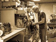 le cordonnier sympa_the nice cobbler (jara311) Tags: métier cordonnier travail chaussures atelier