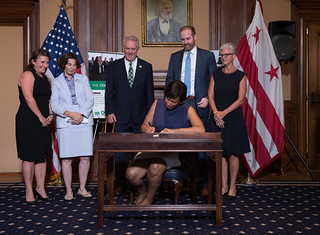 July 10, 2018 MMB Signs Historic Green Finance Authority Establishment Act