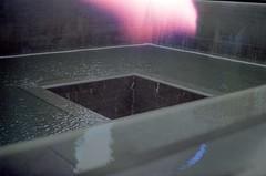 9/11 Memorial (zenopox) Tags: 35mm film analog soysauce buffalosauce fooddye dye filmisnotdead ny nyc memorial
