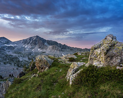 Sunrise in Mercantour (AzurInspire) Tags: france omd olympusinspire saintmartinvésubie alpesmaritimes fra alps mercantour moutains sky sunrise