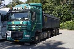 DAF XT 105.460 van den Nagel transport  met kenteken BZ-BZ-40 in Het Harde 07-07-2018 (marcelwijers) Tags: daf xt 105460 van den nagel transport met kenteken bzbz40 het harde 07072018 truck trucks camion lkw vrachtwagen vrachtauto nederland veluwe gelderland guelders niederlande netherlands pays bas