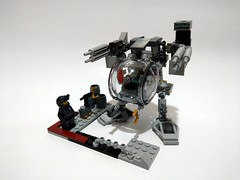 Lego 76109 - alternative build - mech walker (c_s417) Tags: lego marvel 76109 alternate alternative build bricks toys antman avengers mech mecha suit robot stark walker mobile