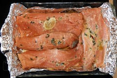 Rainbow Trout Ready for the Oven (Joseph Hollick) Tags: fish trout food coehill