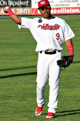 EMMANUEL VALDEZ (MIKECNY) Tags: emmanuelvaldez baseball warmup throw tricityvalleycats minorleague uniform astros