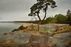 Hanko block (PentlandPirate of the North) Tags: hanko finland suomi hango gunnarsstrand beach baltic concrete block graffiti