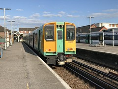 Littlehampton - 10-07-2018 (agcthoms) Tags: 313219 class319 southernrailway trains railways station littlehampton westsussex england