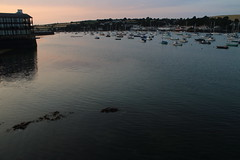 Fal Estuary (charliejb) Tags: falmouth cornwall 2018 sea water packetquays yachts dusk pinksky sunset