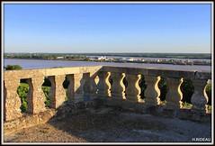 Balcon sur l'estuaire de la Gironde et le Bec d'AMBES. (Les photos de LN) Tags: paysage balcon estuaire gironde garonne aquitaine sudouest becdambès nature rivière fleuve dordogne