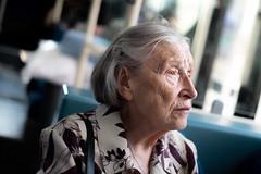 Contemplation (JoshyWindsor) Tags: unitedkingdom portrait london fujinonxf35mmf14 brixton bus elderly fujifilmxt10 streetphotography woman transport
