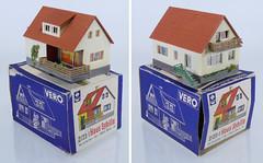 Vero 2-23 Haus Sybille (adrianz toyz) Tags: plastic model railway accessory building ddr gdr eastgermany vero mamos tt gauge scale auhagen ho 223 haus sybille house adrianztoyz