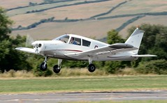 G-BAXZ (goweravig) Tags: gbaxz cherokee visiting aircraft pembrey carmarthenshire wales uk pembreyairport piper